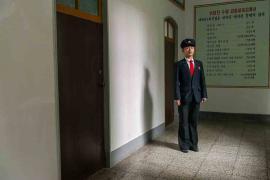 #100. KIM JIN HAK, 20, Landscaping Student, Agriculture University, Wonsan.
