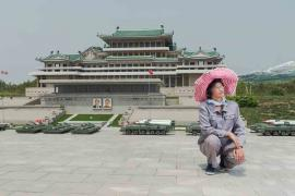 #24. RI GYONG SUN, 45, Maintaining Ancient History Section, Folk Park Pyongyang.