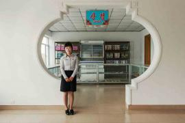 #30. KANG KUM HYANG, 24, Waitress, Sugok Rest Stop (between Pyongyang and Kaesong).
