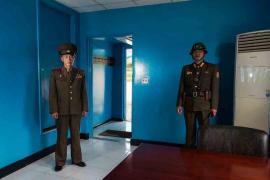 #37. NAM DONG HO, Military Guide, UN Hut, DMZ.#37. NAM DONG HO,军事指导员,联合国小屋,非军事区