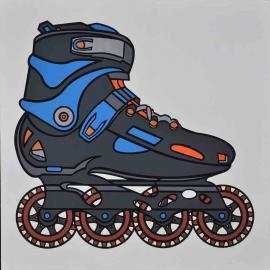 Wang Luyan,  W Chain Wheel Shoes D10-0