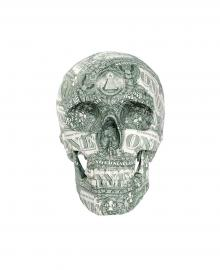 "Kata Legrady,  Skull ""US-Dollar"""
