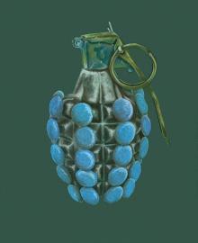 手榴弹(蓝色)