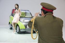 China. Beijing. The Beijing Motor Show