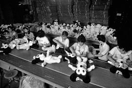 Disney Factory Minniemouse Line Taiwan 1993