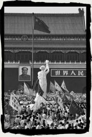 Goddess of Democracy in Tainanmen Beijing May, 1989