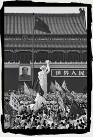Goddess of Democracy in Tainanmen Beijing May, 1989