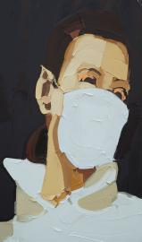mask-girl-2014-200x120cm-oil-on-canvas